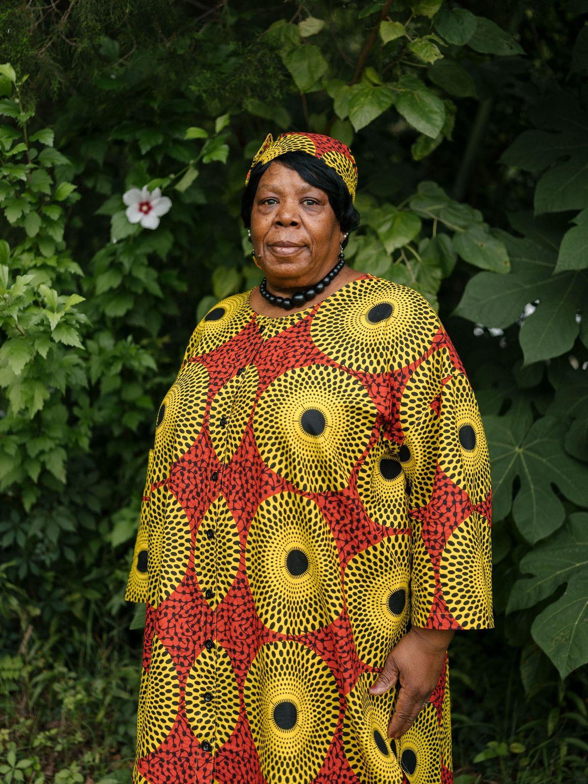 Lorna Gail Woods, com 70 anos, é uma habitante de quinta geração de Africatown. O seu ...