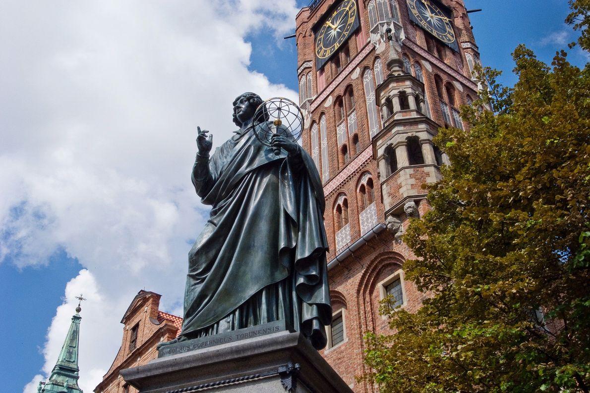monumento ao astrónomo Nicolau Copérnico