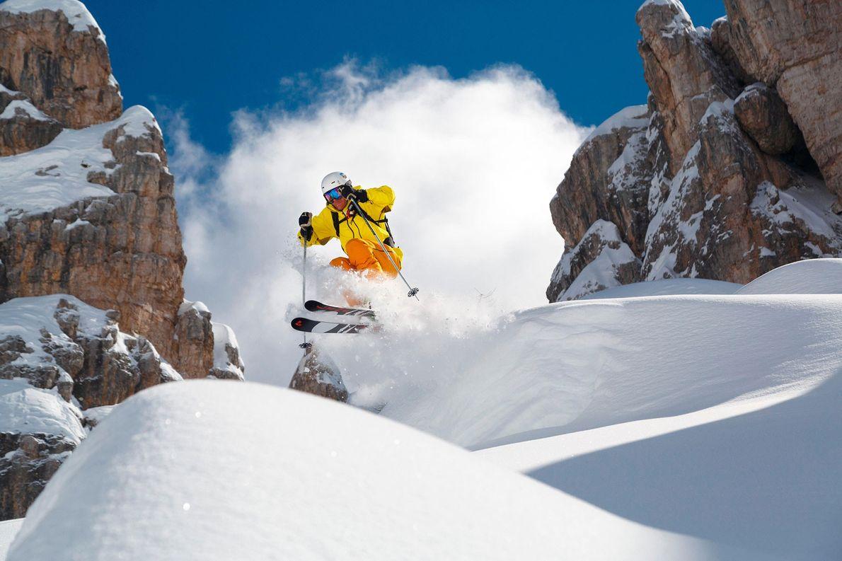 Cidades Para Esquiar - Cortina d'Ampezzo, Itália