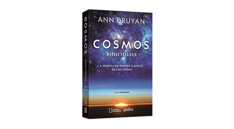 Passatempo: Livro 'Cosmos: Mundos Possíveis'