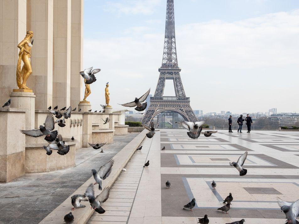Fotografar a Cidade de Paris Deserta – 'É Sinistro.'
