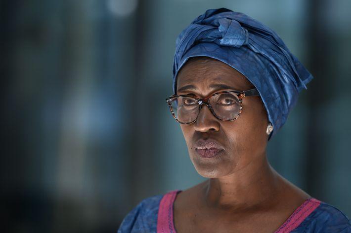 """""""Nós impomo-nos porque achamos que temos uma resposta"""", diz Winnie Byanyima, diretora executiva do Programa Conjunto ..."""