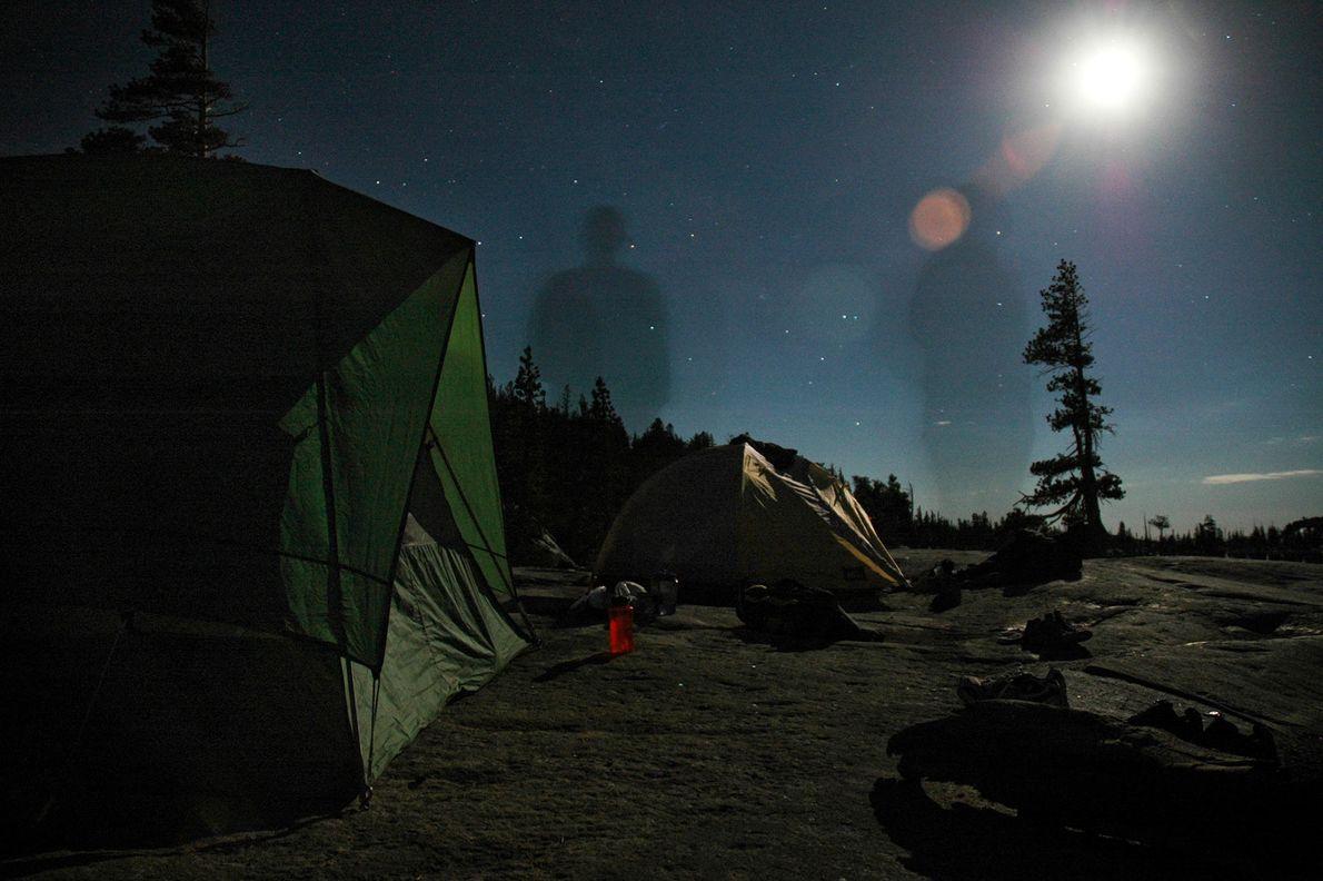 Região selvagem do Lago Tahoe, na Califórnia