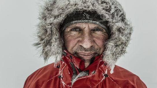O explorador polar Louis Rudd