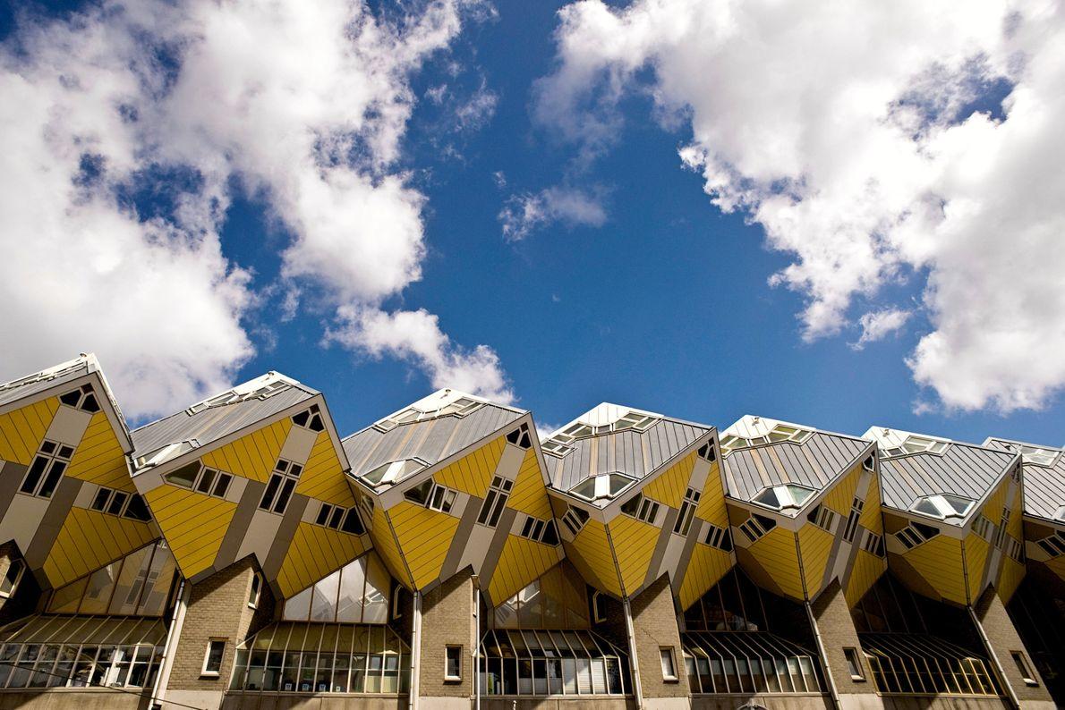 Casas em Cubo: Roterdão