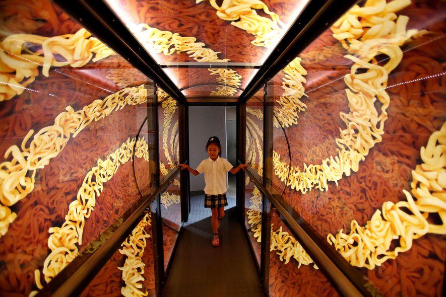 Quem viaja para Tóquio tem a possibilidade de visitar o Museu de Ramen Shin-Yokohama nas proximidades ...