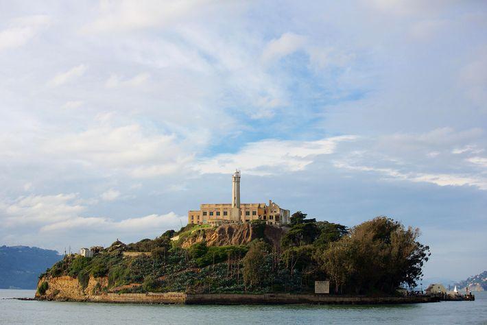 Ilha de Alcatraz, em São Francisco, Califórnia