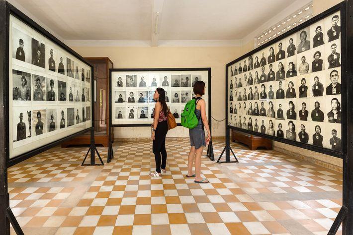Museu do Genocídio de Tuol Sleng, Camboja