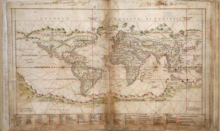 Mapa de todo el Mundo