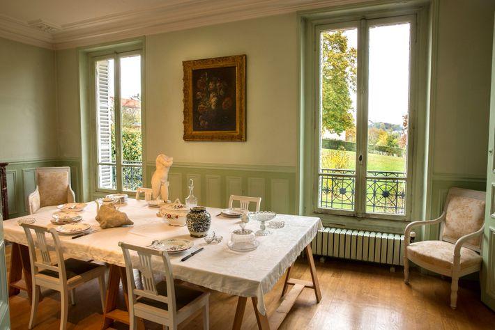 La Villa des Brillants, de Rodin, foi reconstruída em 1997 a partir de fotografias da época ...