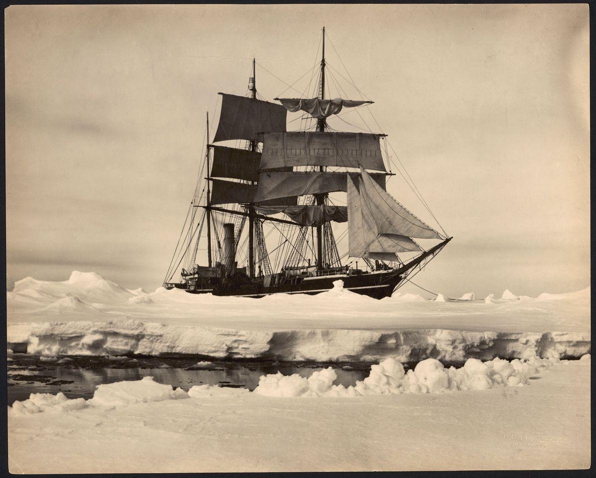O S.S. Terra Nova transportou exploradores para a Antártida entre 1910 e 1912. Originalmente, um navio ...
