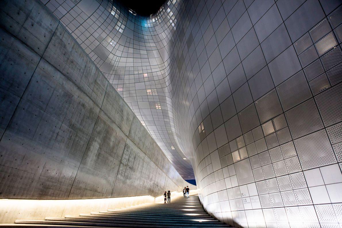 Dongdaemun Design Plaza, em Seul.