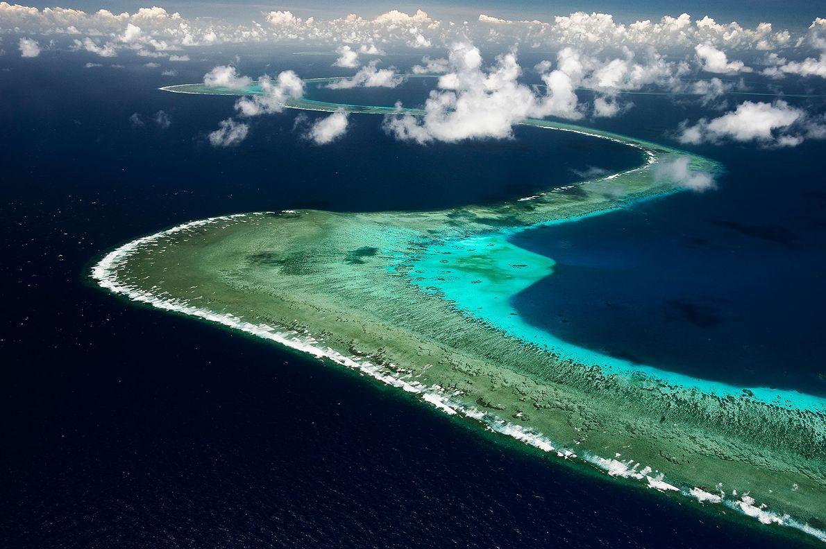 Uma das melhores formas de compreender um recife consiste em observá-lo a partir do ar. O ...