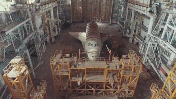 Assustadoras Naves Espaciais Soviéticas ao Abandono no Cazaquistão