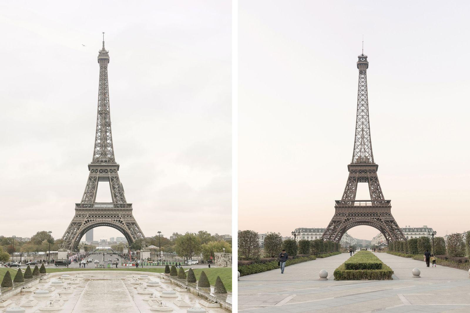 Cidade Chinesa Replica a Cidade de Paris