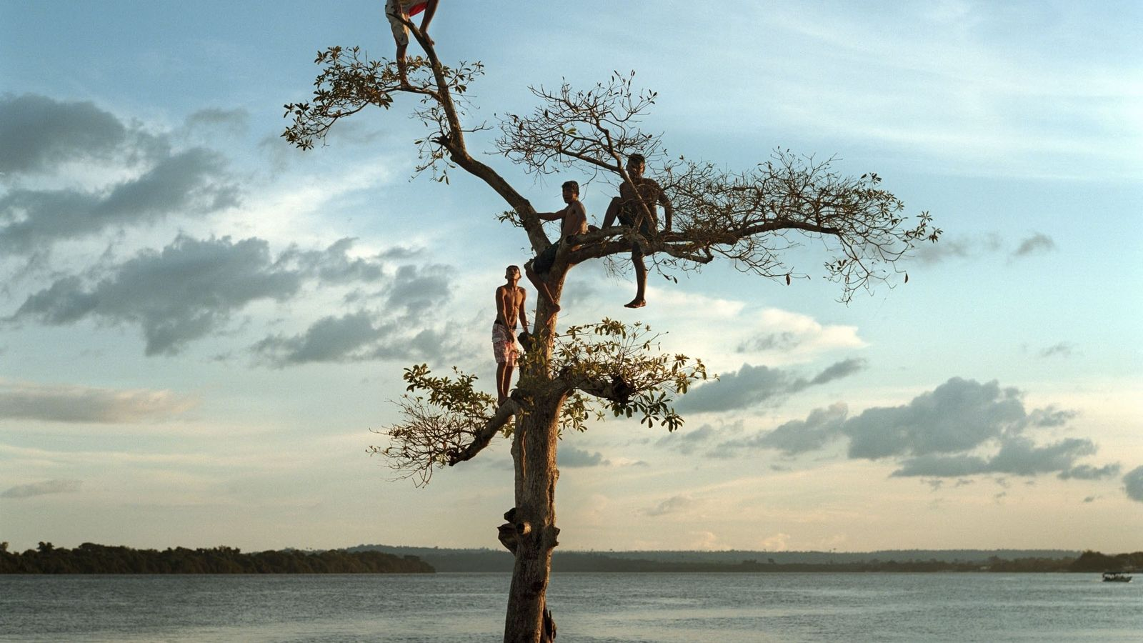 Rio Xingu, na cidade de Altamira, Brasil