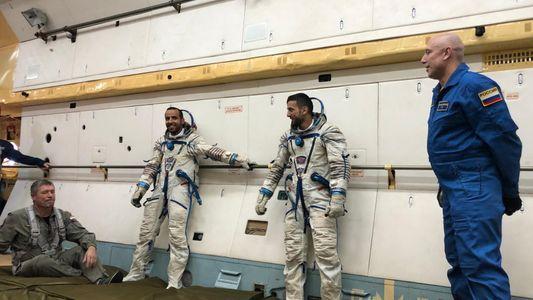 Astronautas dos Emirados em Contagem Decrescente Para Missão Científica na EEI