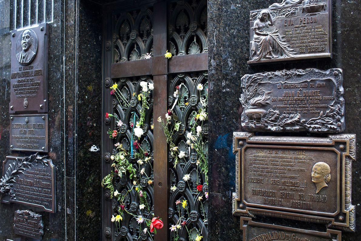 túmulo de Eva Perón