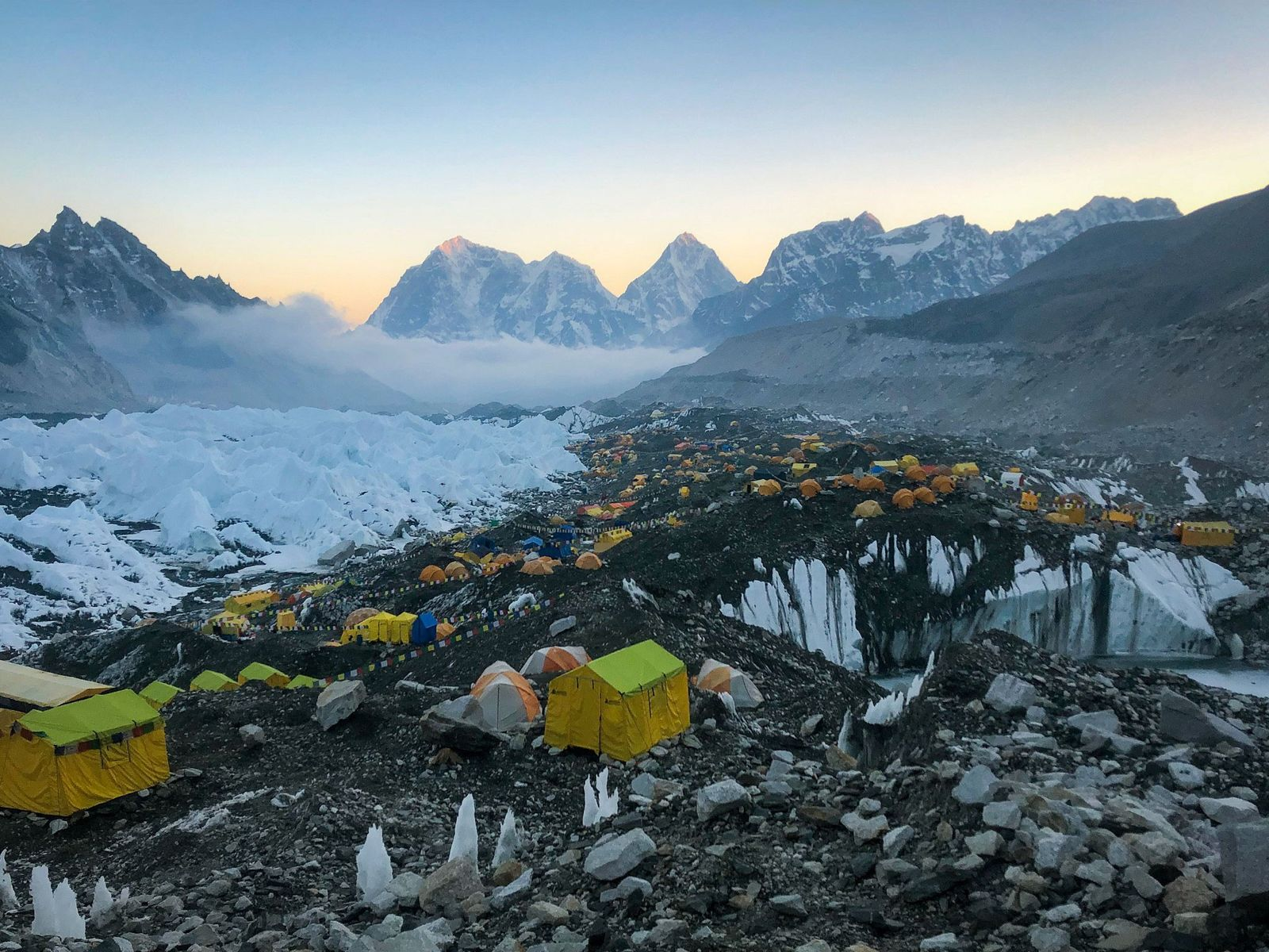 Viver no Acampamento-base do Evereste