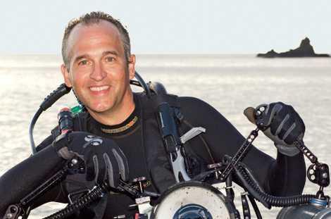 """O objetivo de Skerry é criar """"imagens que celebrem o mar, mostrando ao mesmo tempo os ..."""