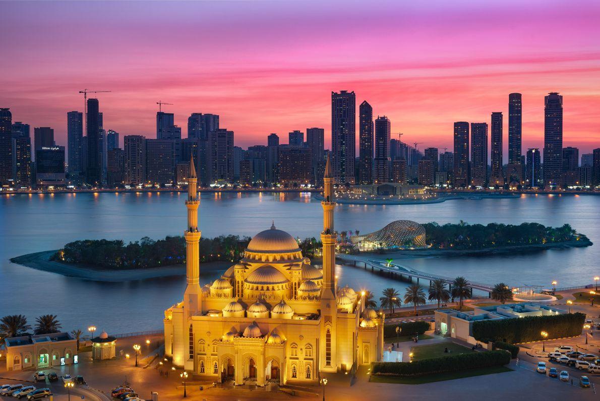 Pôr-do-Sol de Sharjah