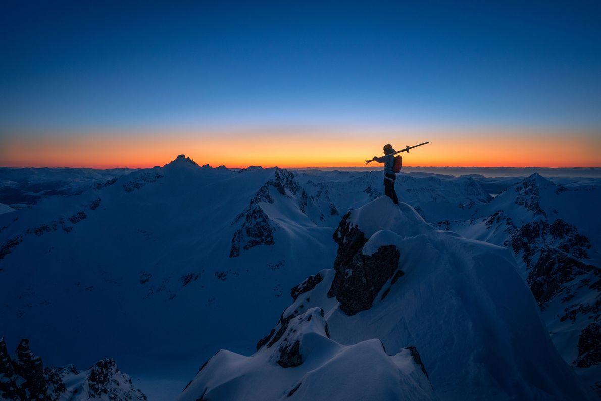 Esquiar em Sunnmøre