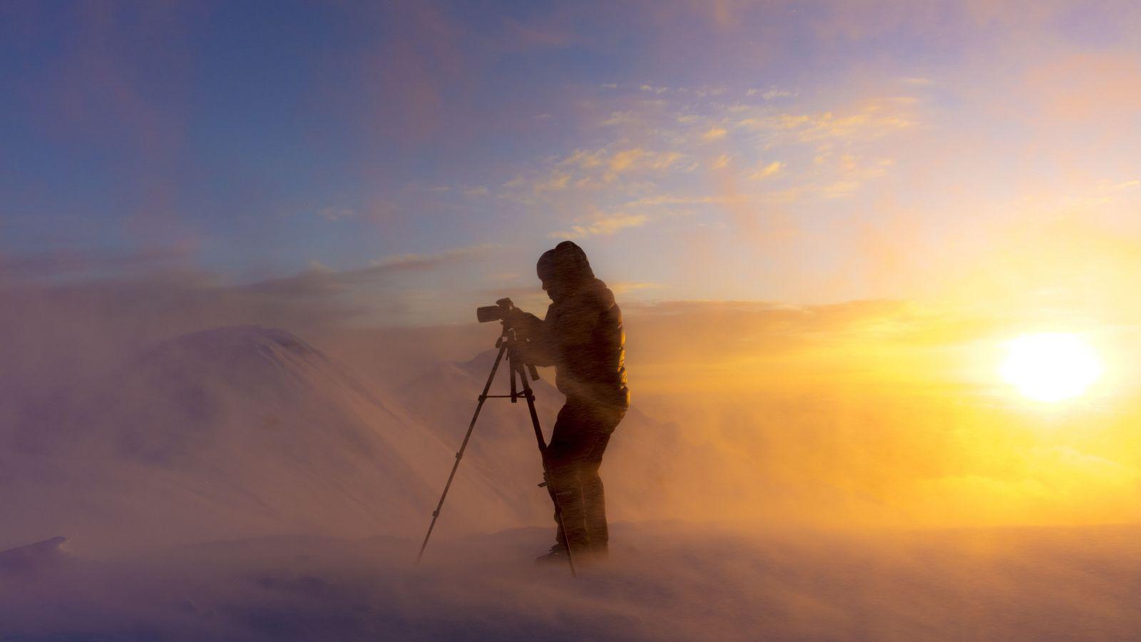 Manhã na Montanha