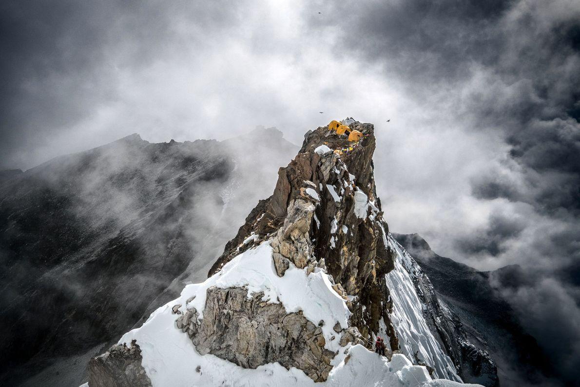 Acampar no Pico