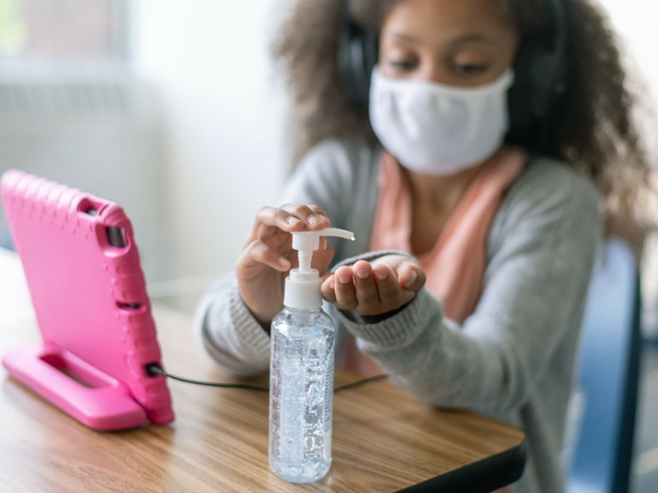Será que estamos a criar pequenos germofóbicos?