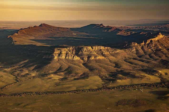 Montes Flinders, Austrália
