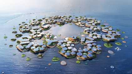 Cidades Flutuantes Poderiam Aliviar o Excesso Habitacional