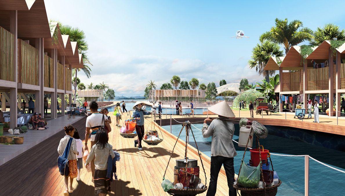 Os projetistas dizem que as cidades seriam especificas e responsivas a questões sociais, políticas e económicas ...