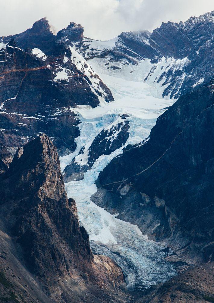 Grande montanha de Paine