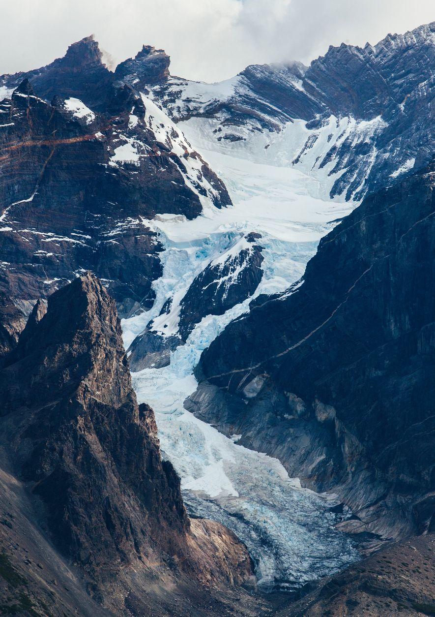Foi uma expedição de um montanhista francês que deu o nome ao Glaciar Francês, na grande ...