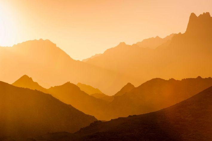 Montanhas do deserto
