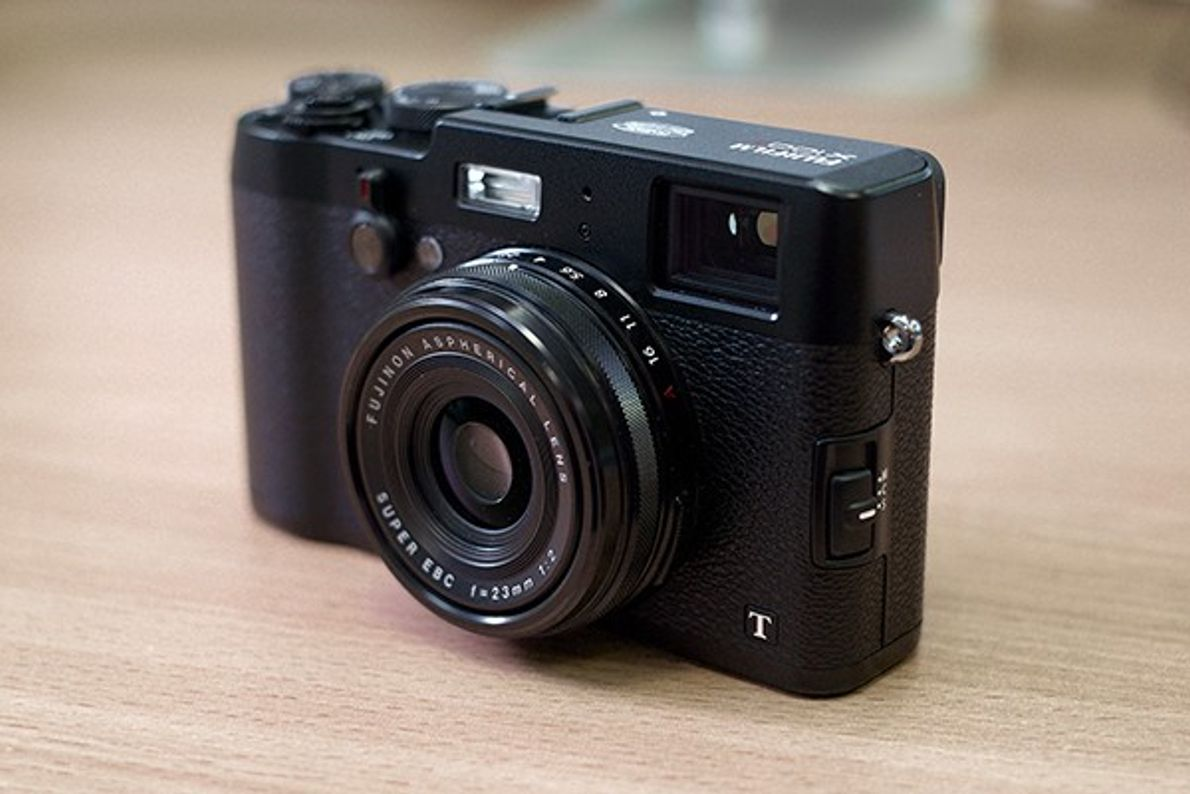 Fotografia da câmara compacta Fuji x100t