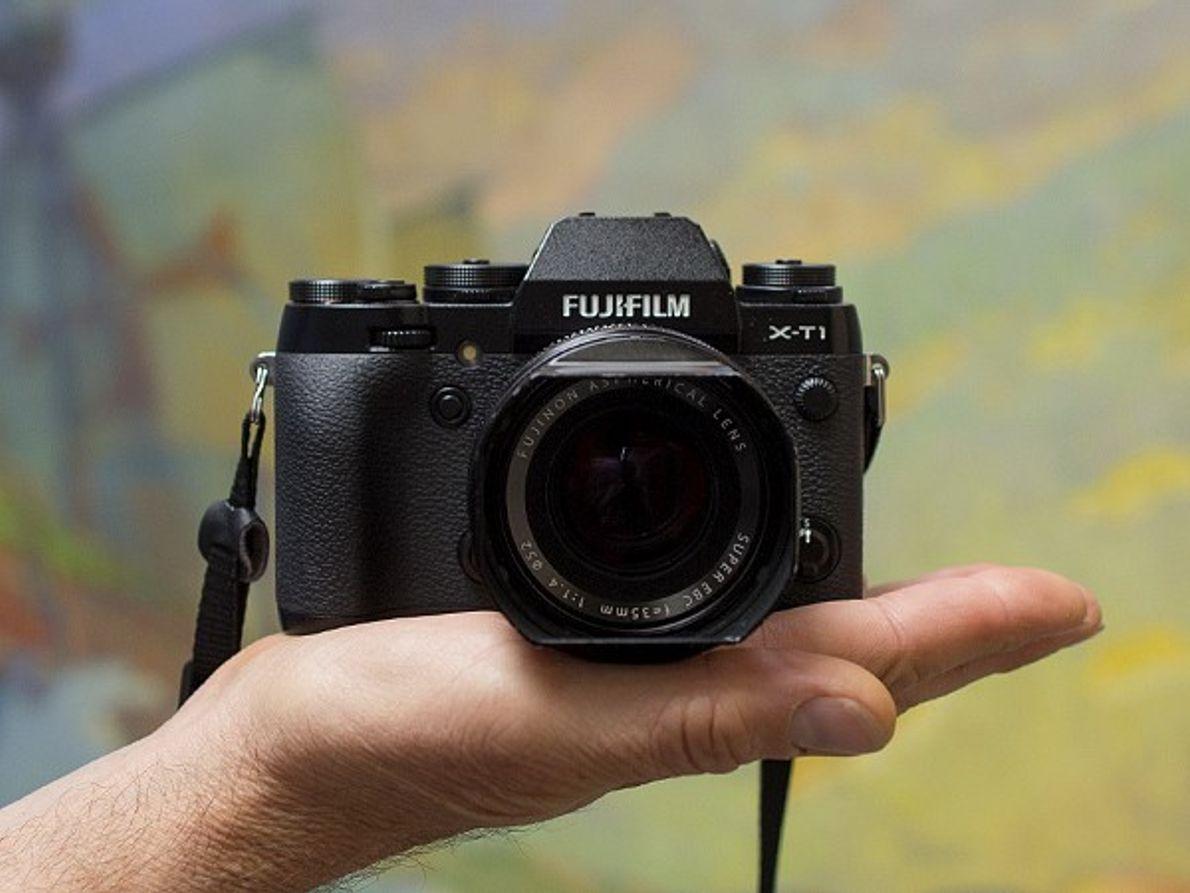 Fotografia da Fujifilm XT-1