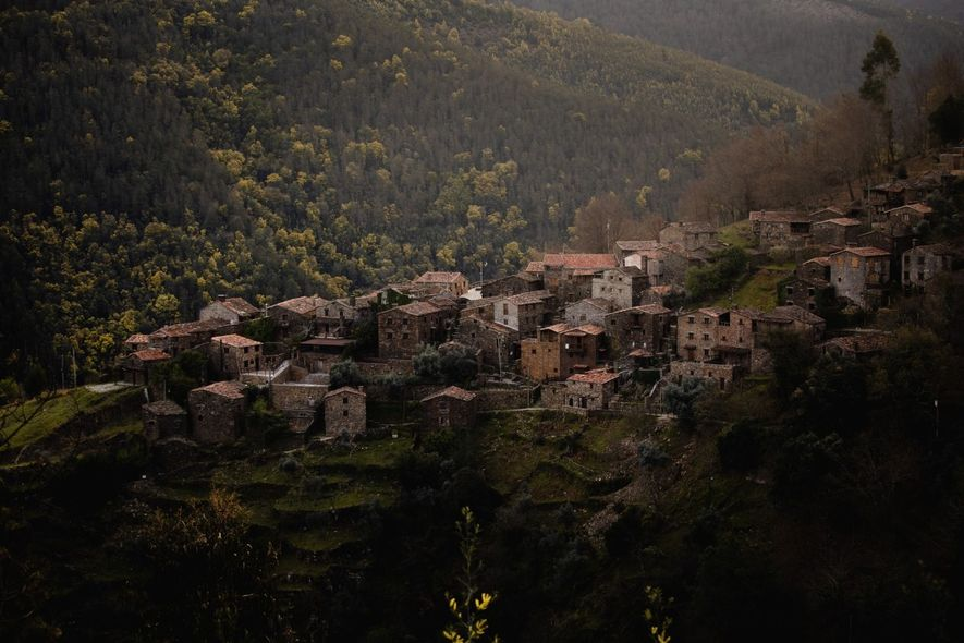 Talasnal, uma das mais emblemáticas aldeias do Xisto de Portugal.