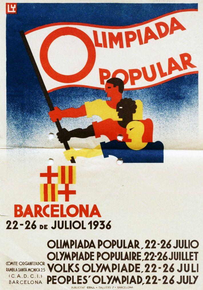 Cartaz da candidatura espanhola aos Jogos Olímpicos de 1936