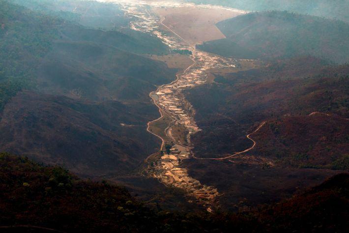 Brasil- Mineração- Amazónia