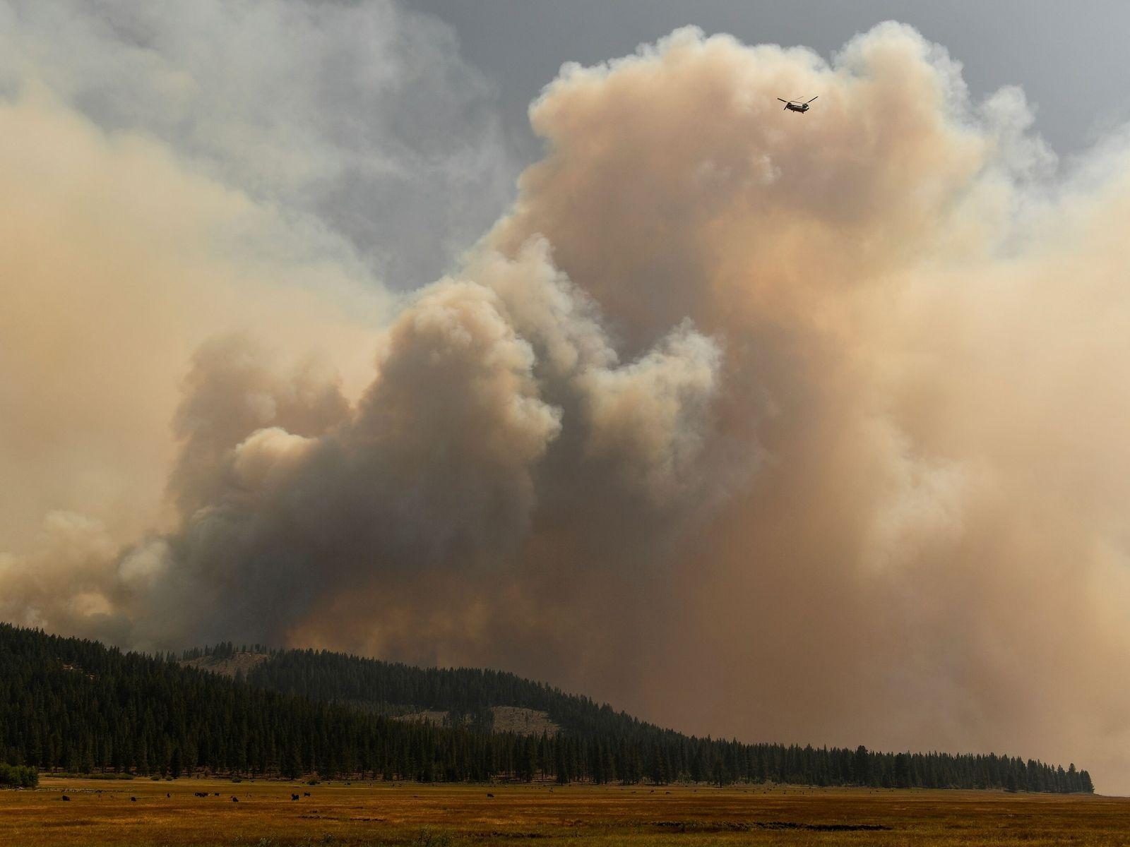 Incêndio Dixie no norte da Califórnia