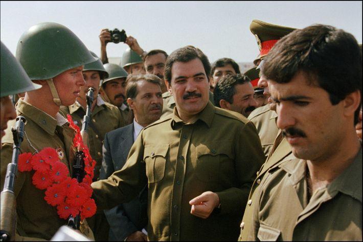 Presidente afegão Mohammed Najibullah