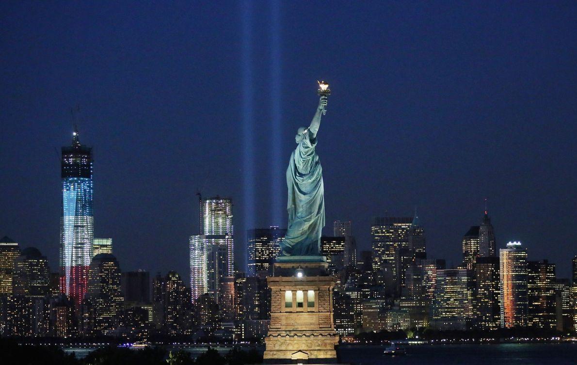 Nova Iorque marca o 11º aniversário dos ataques do 11 de setembro