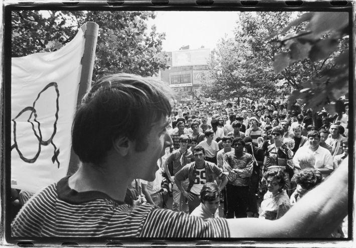 O ativista Marty Robinson em 1969