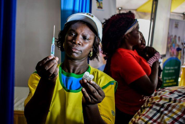 Vacina contra a malária