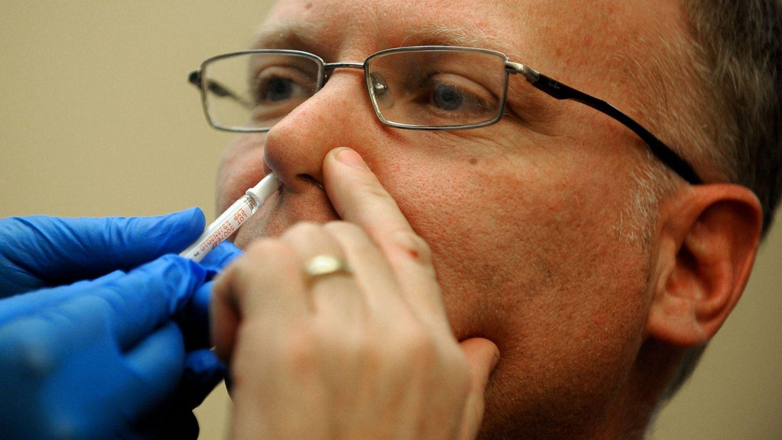 H1N1 Vacina intranasal