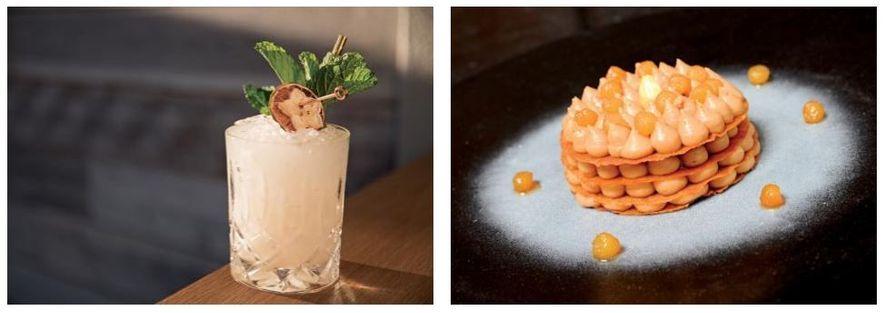 Esquerda: No restaurante Lineage do Havai, na ilha de Maui, os baristas fazem um Mai Tai ...
