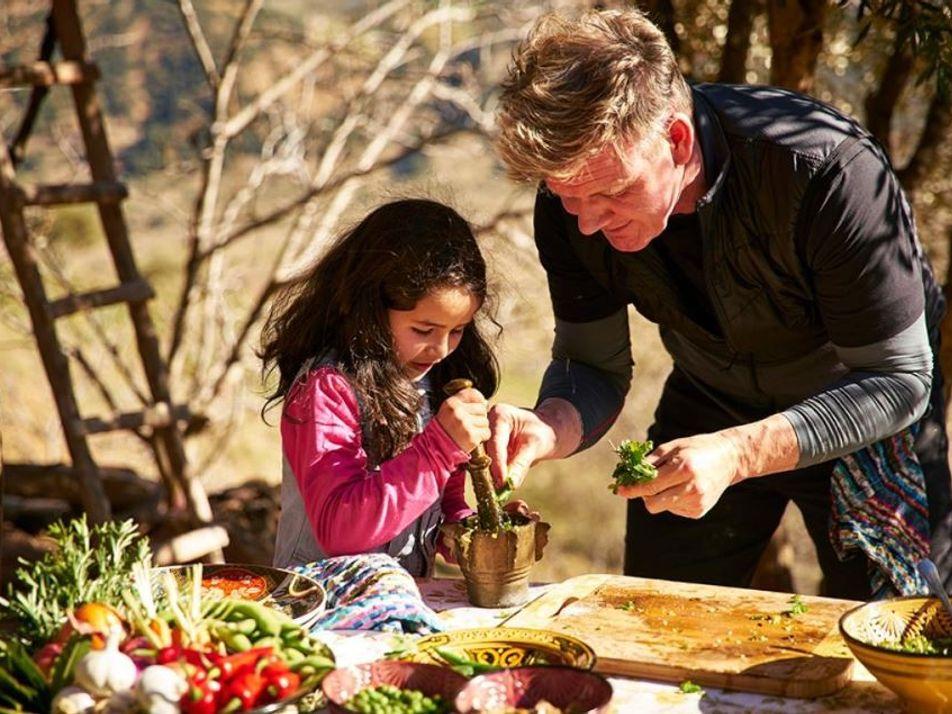 Imagens da Aventura de Gordon Ramsay em Marrocos