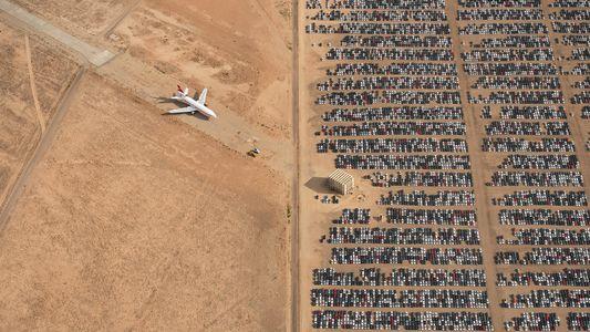 Fotografia Aérea do Deserto Tirada Por Piloto Vence Concurso de Fotografia de 2018 da National Geographic