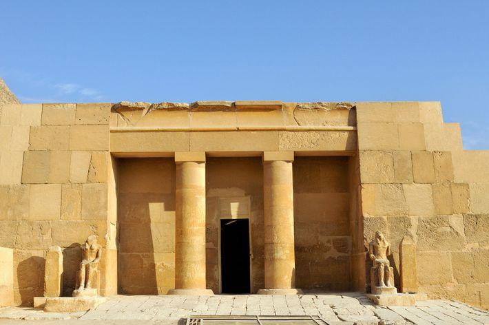 O túmulo da rainha Meresankh III